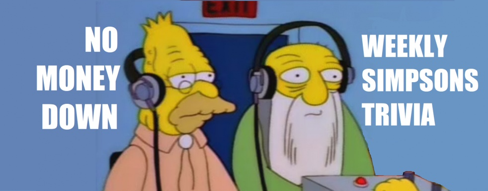No Money Down Podcast (Simpsons Trivia) - imagen de show de portada