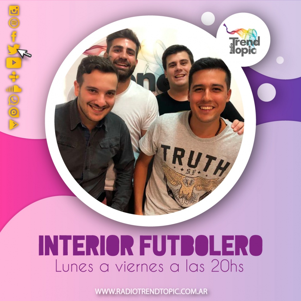 Interior Futbolero - Radio Trend Topic - show cover