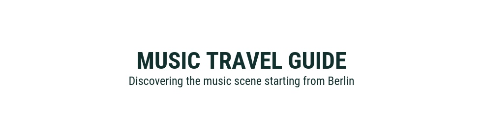 Music Travel Guide - show cover