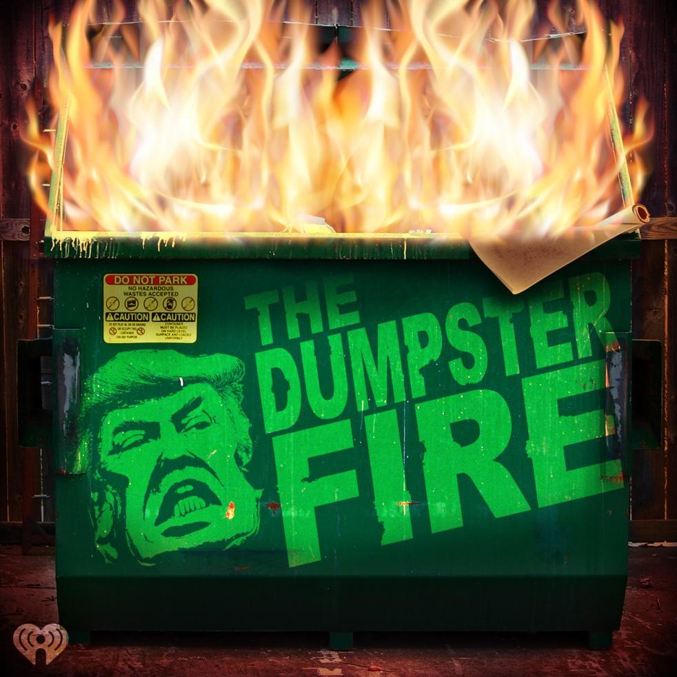 The Dumpster Fire - immagine di copertina dello show