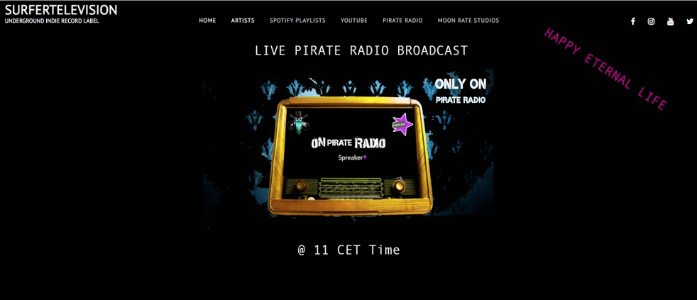 PIRATE RADIO UK - Cover Image