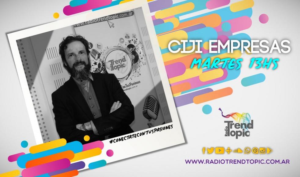 CIJI Empresas - Radio Trend Topic - immagine di copertina dello show