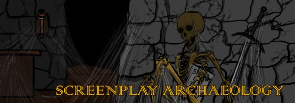 Screenplay Archaeology Podcast - Cover Image