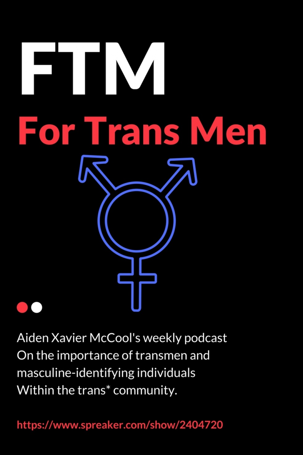 FTM - For Trans Men - show cover
