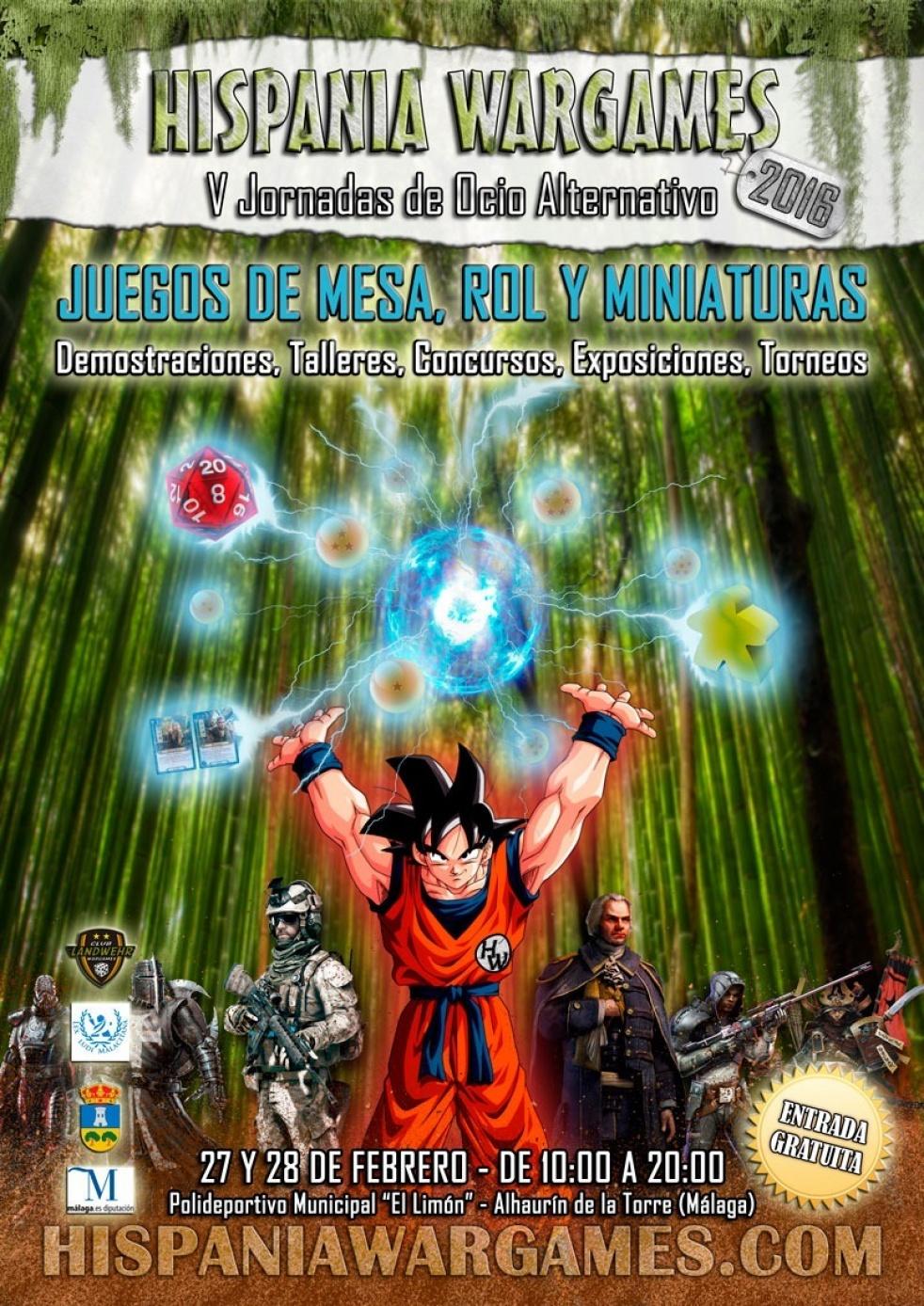 Hispana Wargames 2016 - show cover