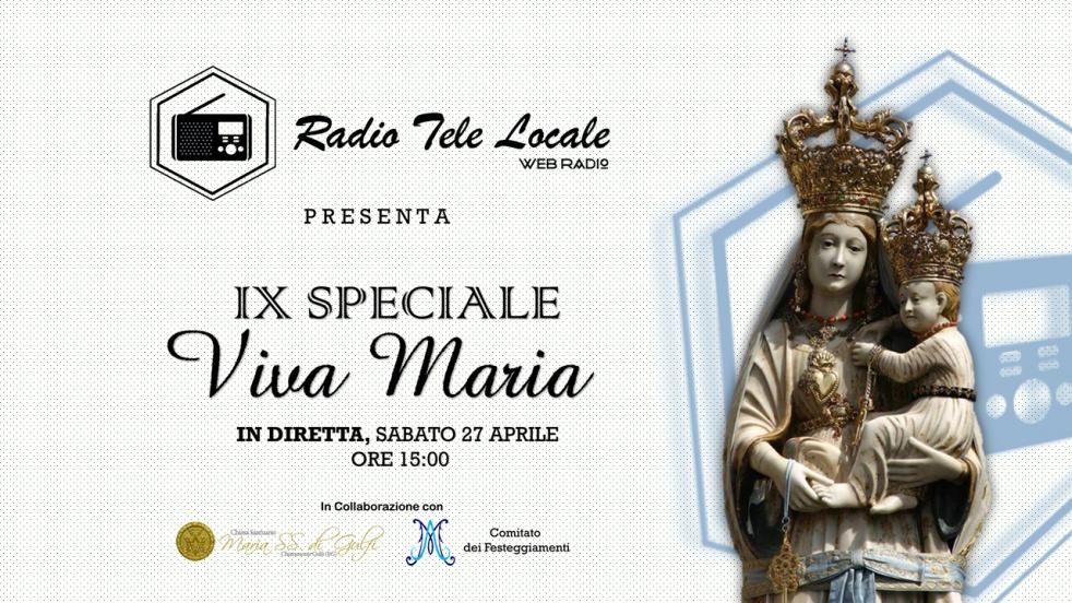 "IX Speciale ""VIVA MARIA"" - imagen de show de portada"