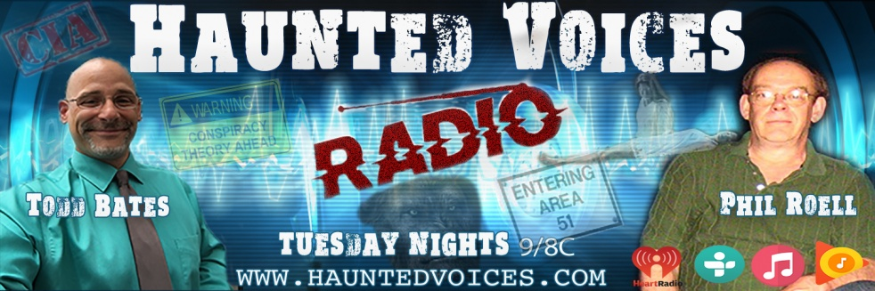 Haunted Voices Radio - show cover
