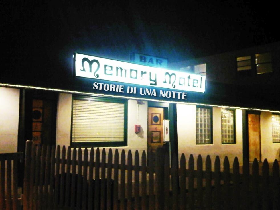 Memory Motel 'Storie di una notte' - show cover