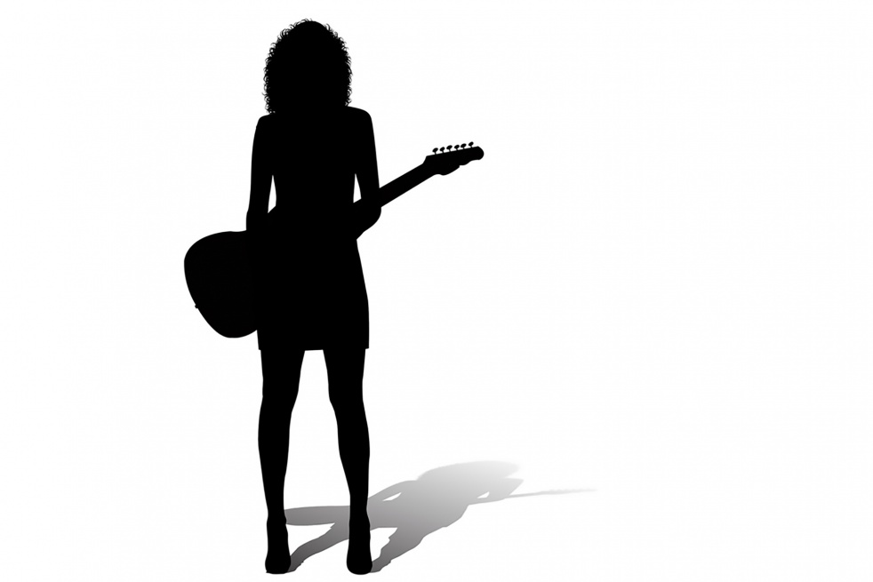 Woman in Rock - Cover Image