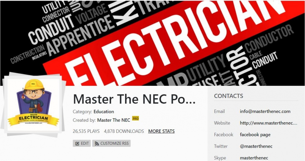 Master The NEC - PODCAST - Cover Image