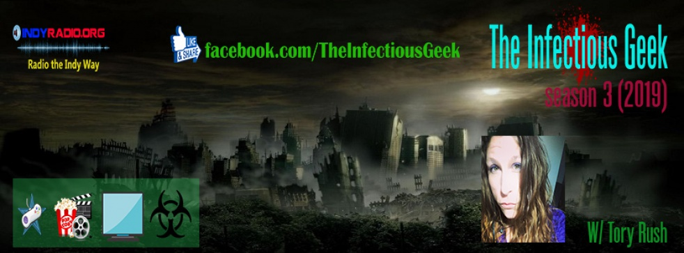 Infectious Geek - show cover