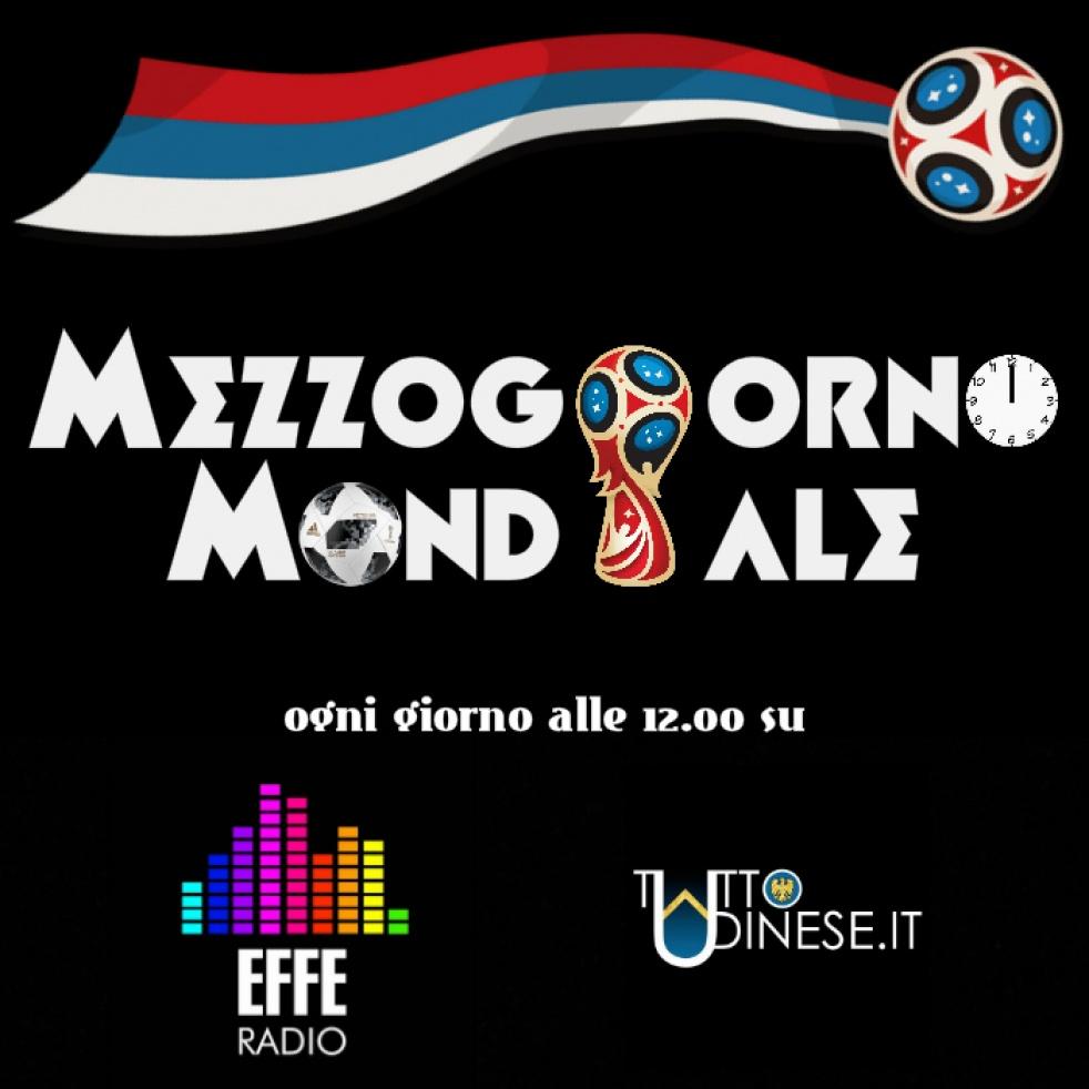 Mezzogiorno Mondiale - imagen de show de portada