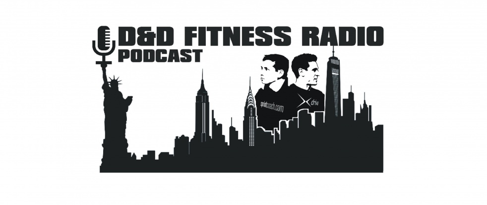 D&D Fitness Radio Podcast - show cover
