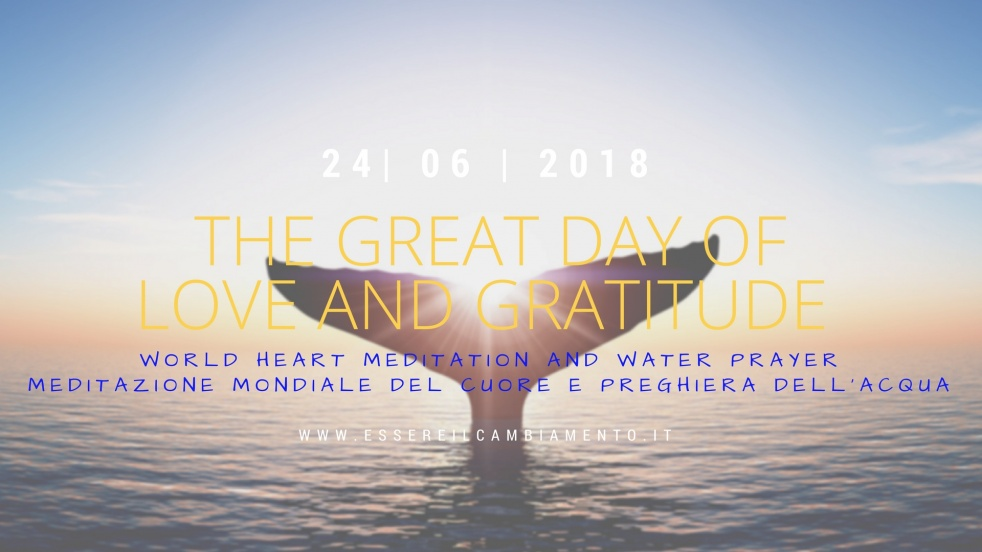 The Great Day of Love and Gratitude - show cover