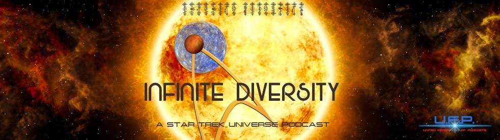 Infinite Diversity: A Star Trek Universe Podcast - imagen de portada