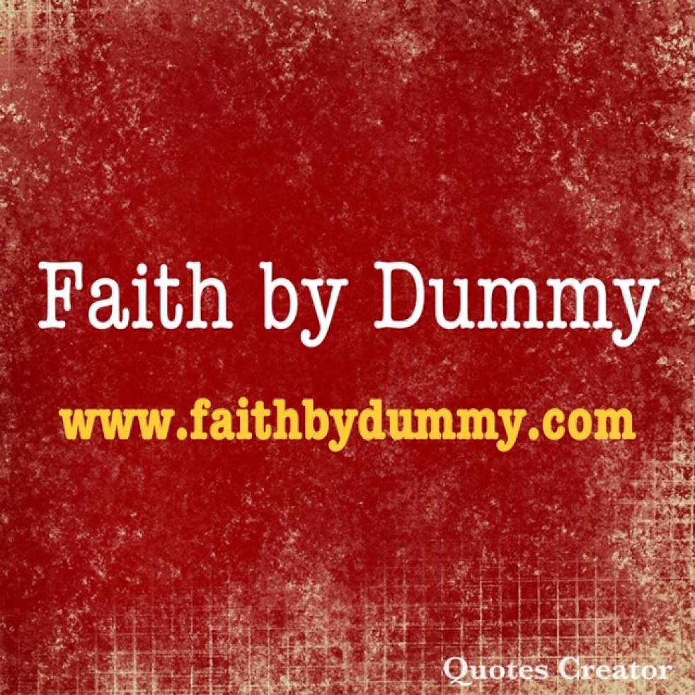 Faith By Dummy - imagen de show de portada