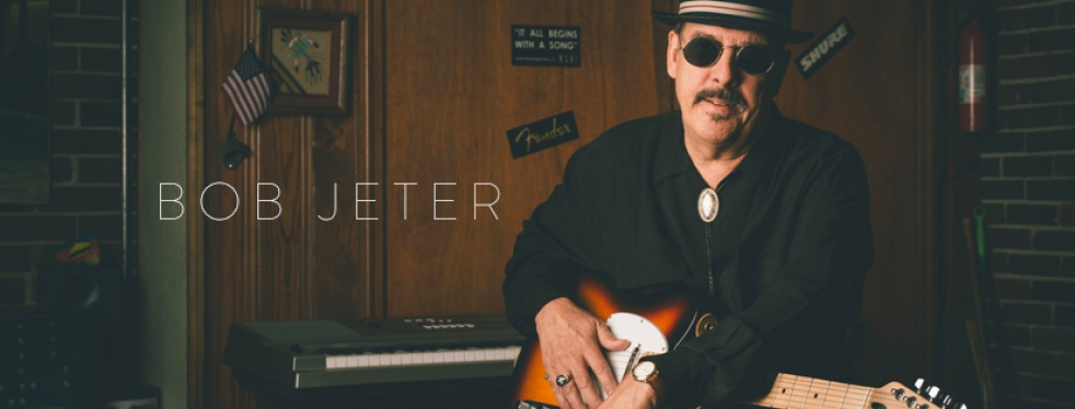 The Robert Jeter Show - Blues & The News - show cover