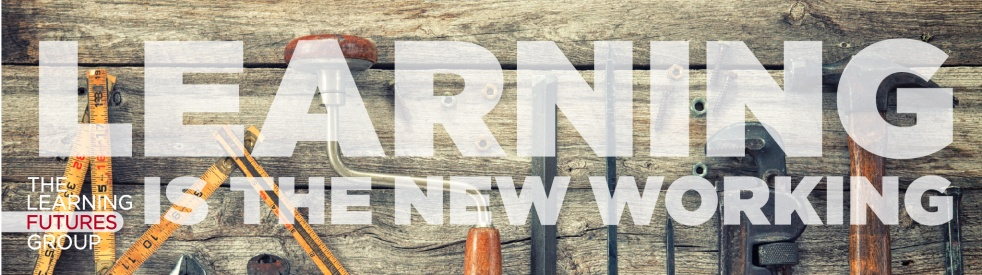Learning Is The New Working - Cover Image