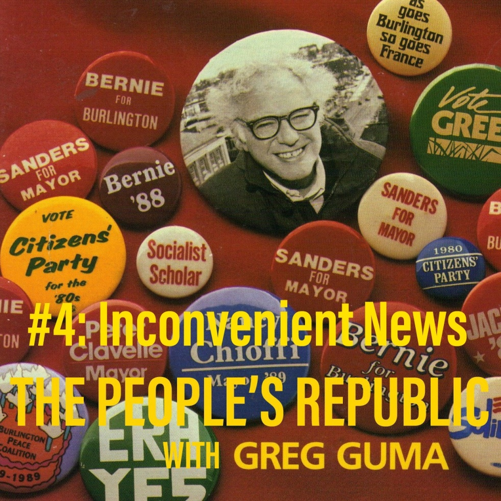 People's Republic: #4 Inconvenient News - imagen de show de portada