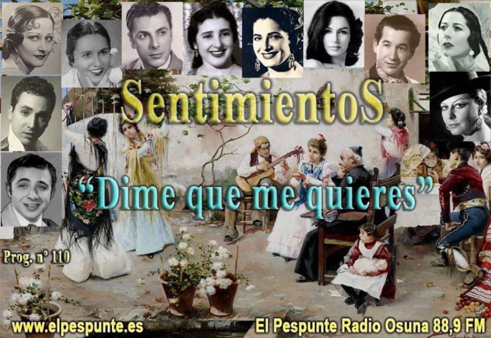 Sentimientos  (El Pespunte) COPLA - show cover