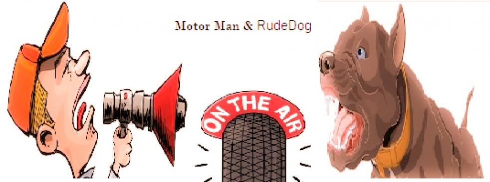 Motor Man & Rude Dog - Cover Image