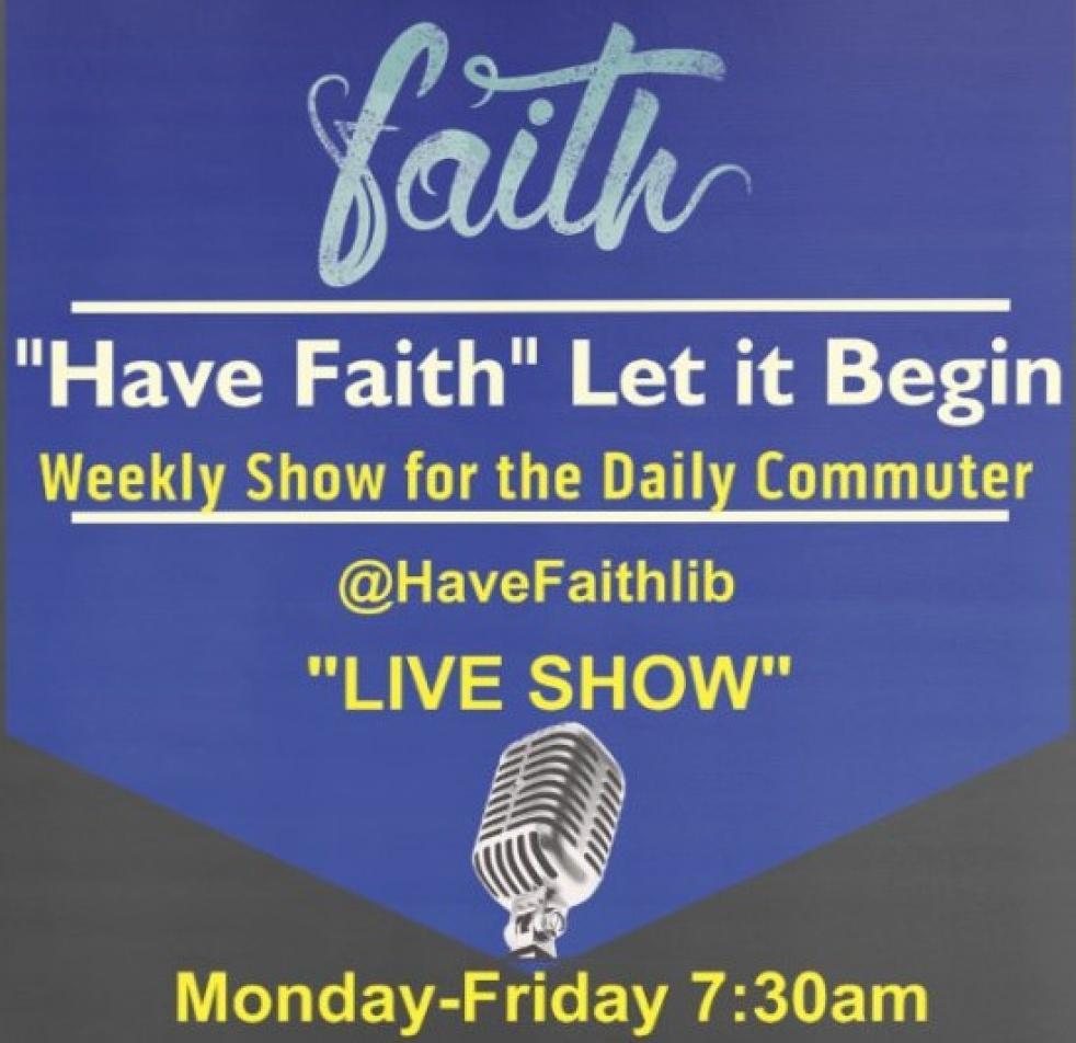 Have Faith Let it begin - imagen de show de portada