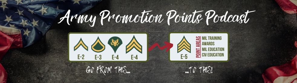 Army Promotion Points Podcast - Cover Image