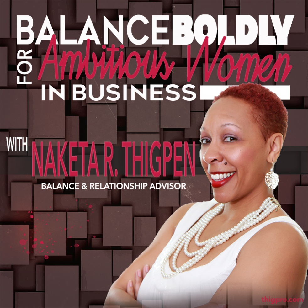 Balance Boldly for Ambitious Women - show cover
