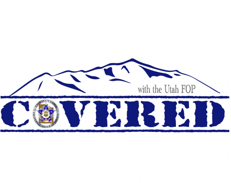 Covered with the Utah FOP - Cover Image