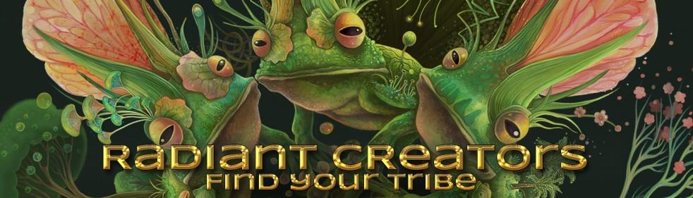 Radiant Creators - imagen de show de portada