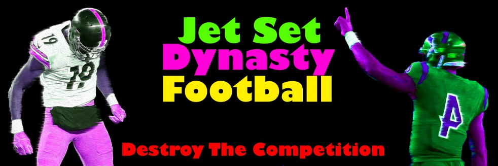 Jet Set Dynasty Football - show cover