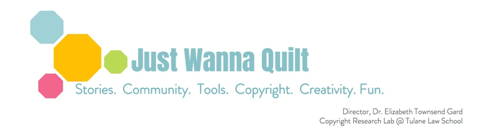 Just Wanna Quilt - show cover