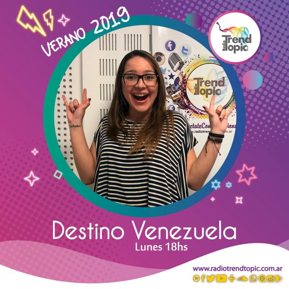 Destino Venezuela - imagen de show de portada