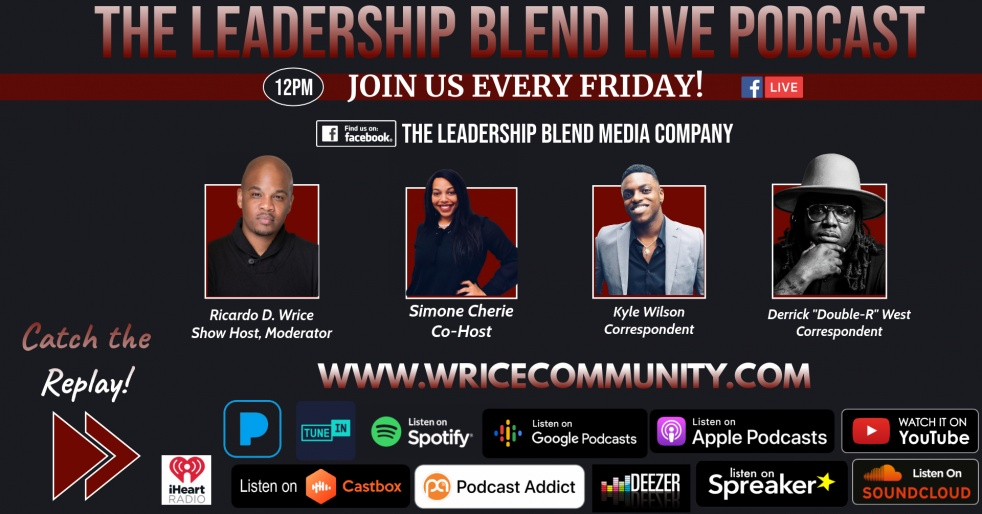 The Leadership Blend Live Podcast - Cover Image