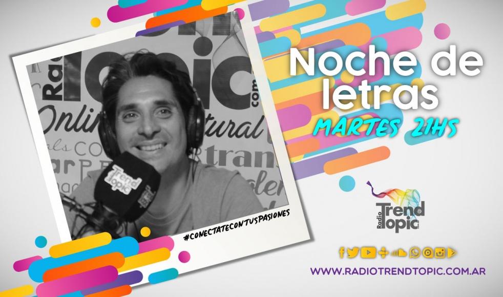 Noche de Letras 2.0 - Radio Trend Topic - imagen de show de portada