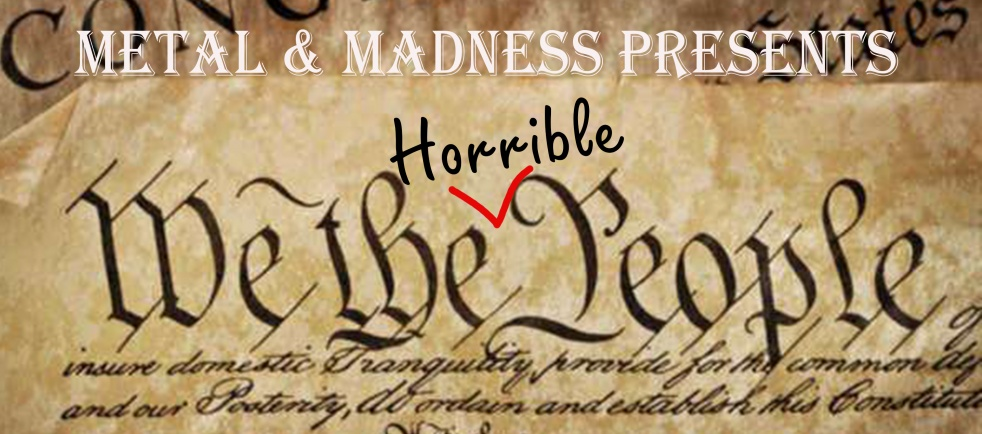 M&M Presents: We the Horrible People - Cover Image