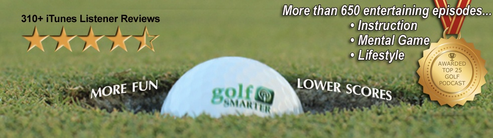 GOLF SMARTER - Cover Image