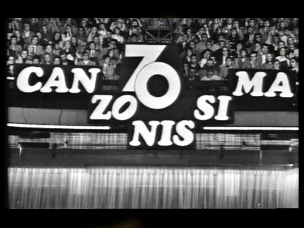Canzonissima Musica Bellissima - show cover