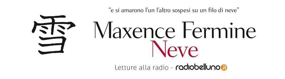 Neve di Maxence Fermine - Lettura - show cover