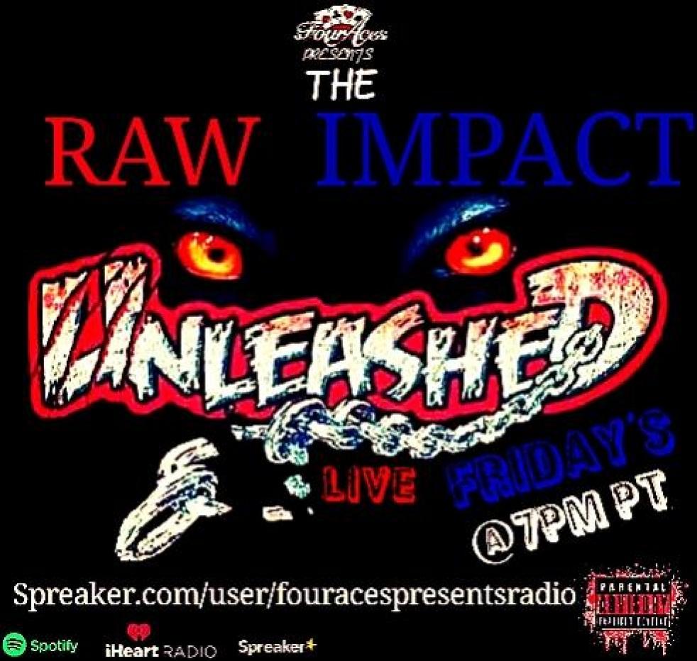 The RAW IMPACT Unleashed - imagen de show de portada