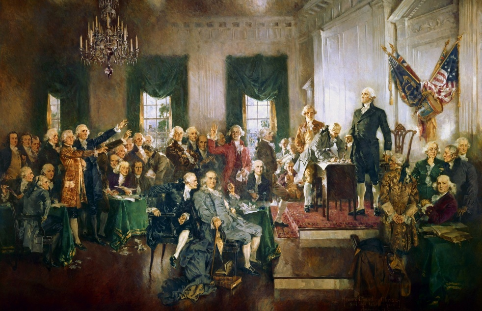 USA Constitution & Declaration - Cover Image