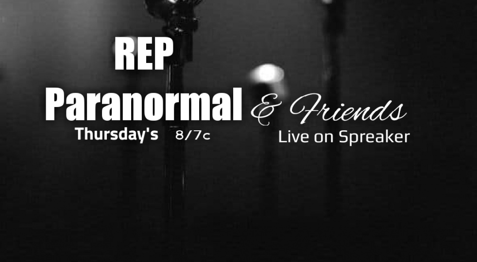 REP Paranormal and Friends - show cover