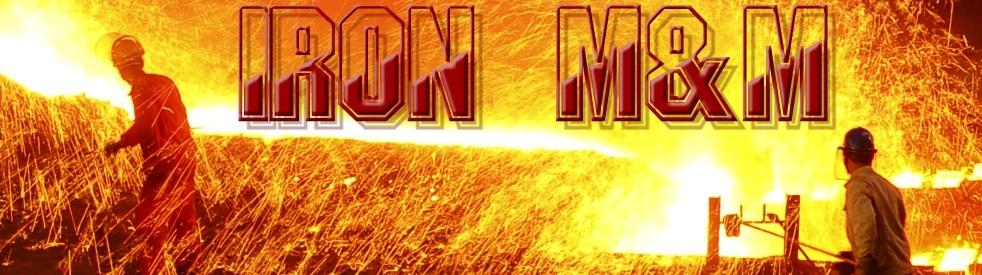 IRON M&M - show cover