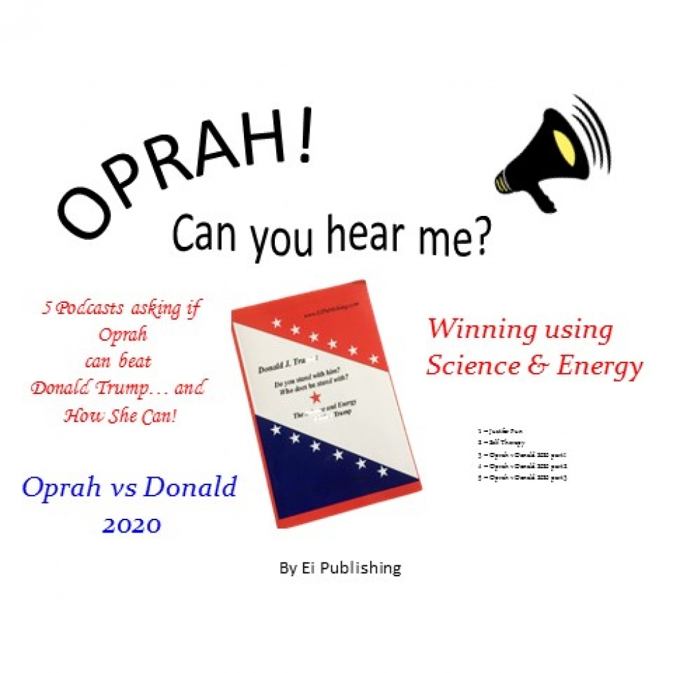 Oprah! Can You Hear Me? Oprah v Donald - imagen de show de portada