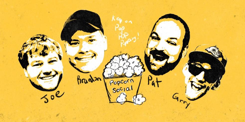 Popcorn Social Movie Podcast - imagen de portada