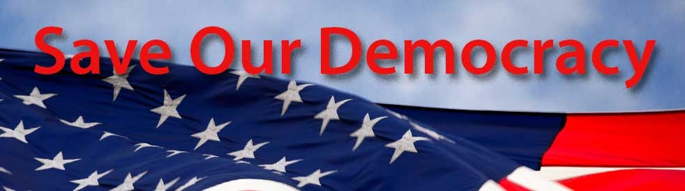 Save Our Democracy - show cover
