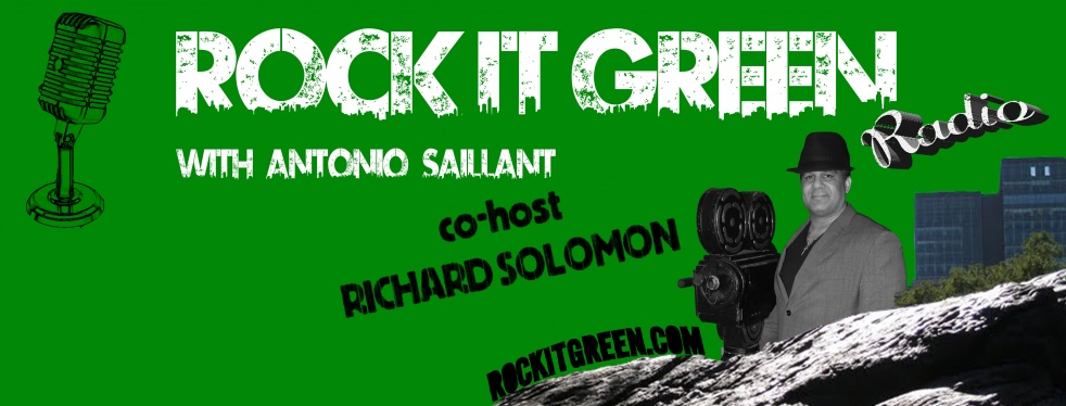 Rock It Green Radio - show cover