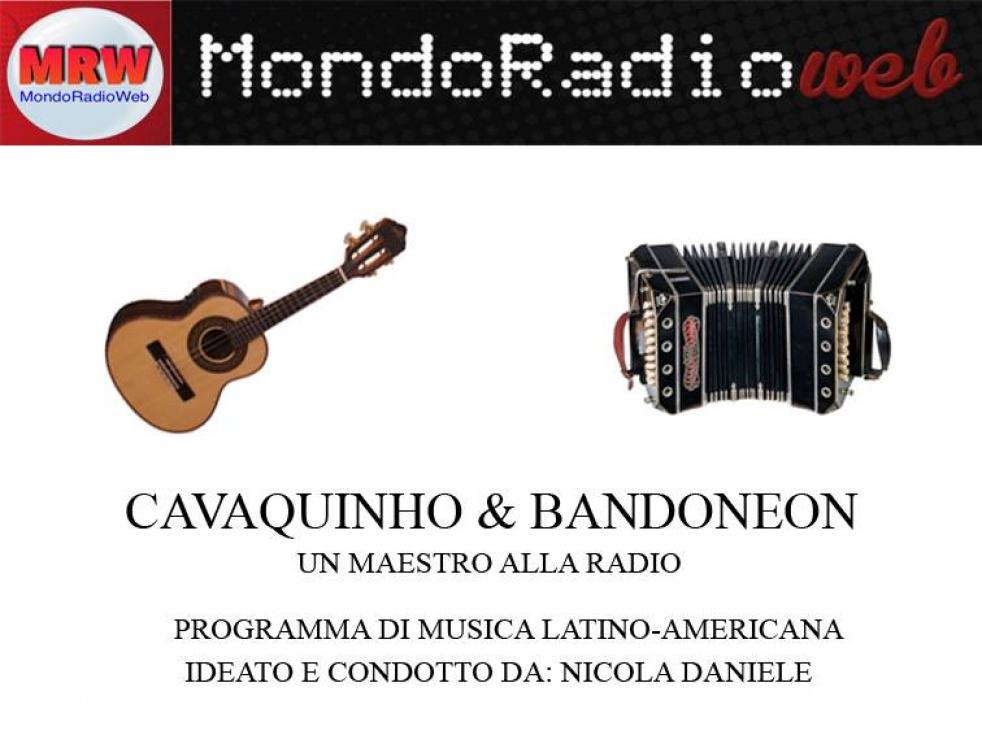 Cavaquinho & Bandoneon - show cover