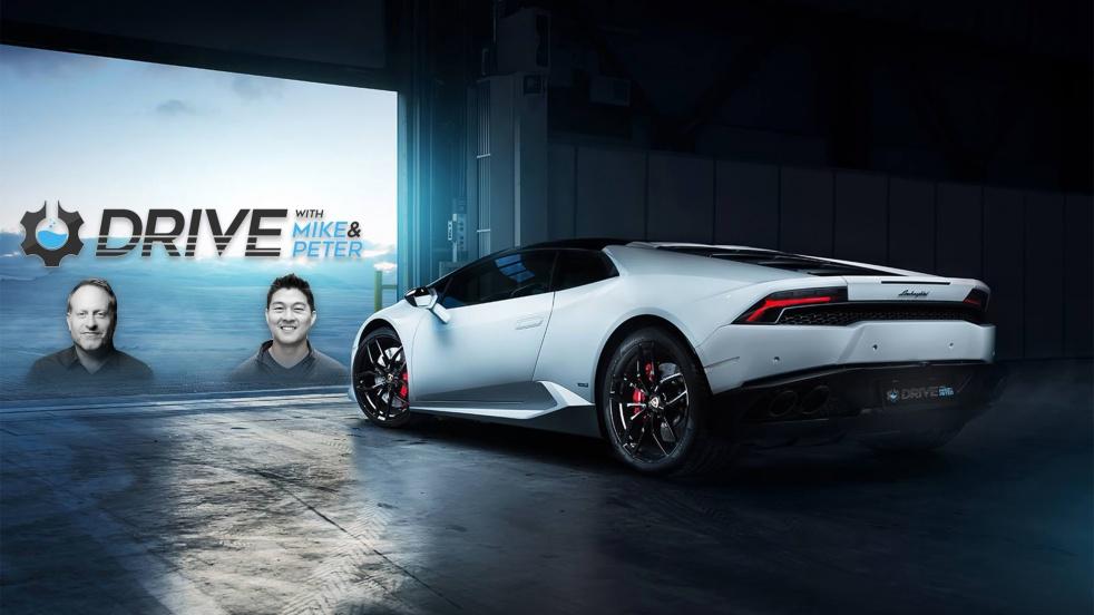 DRIVE with Mike & Peter - Cars & Hustle - imagen de show de portada