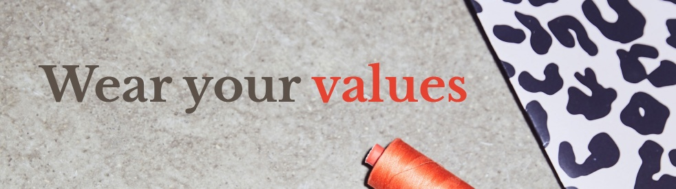 Wear your values - Cover Image